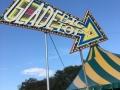 The main venue - The Glade Big Top