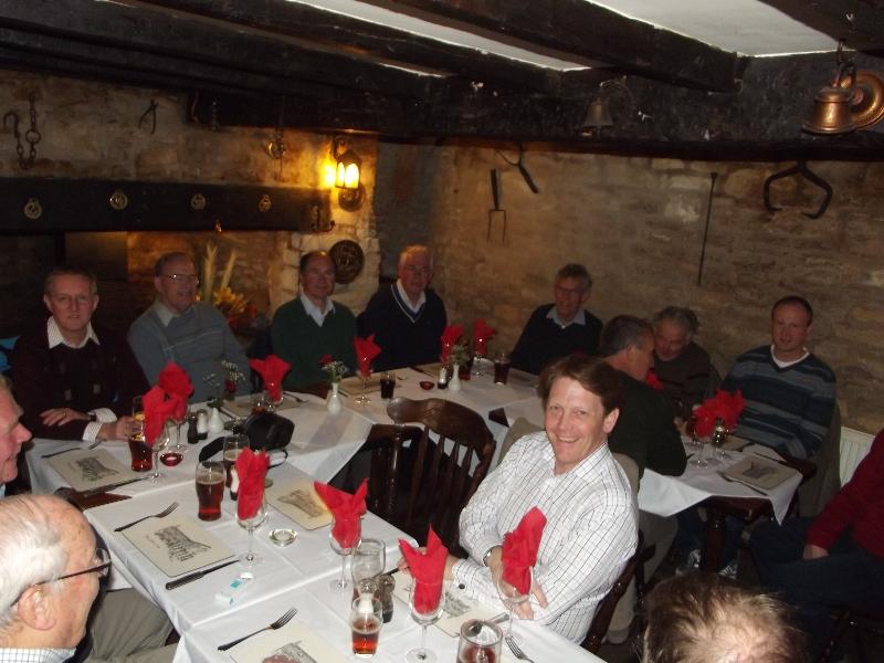 Mens Group meal, April 2012