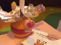 The Christingle....before the sweets have gone!