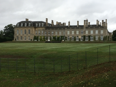 Boughton House our hosts