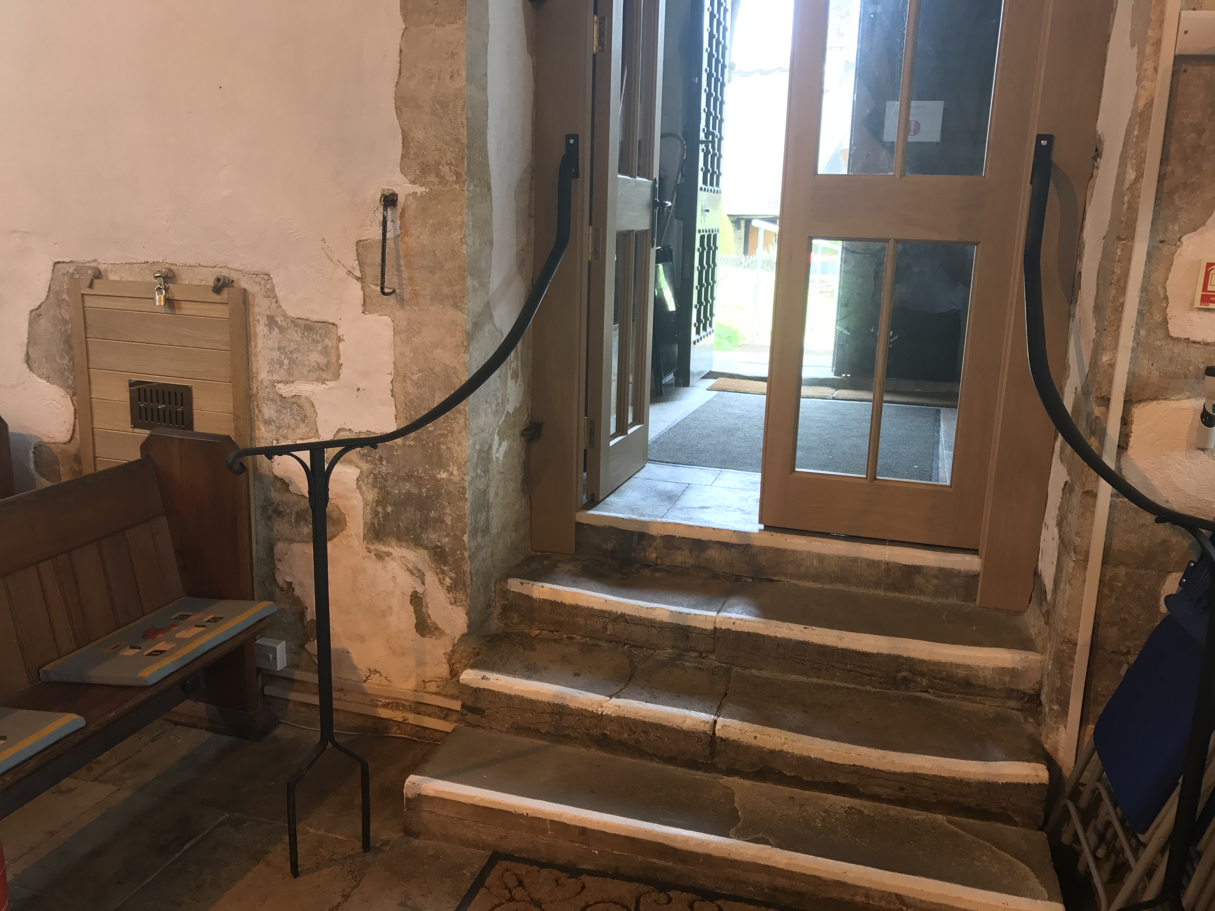 The rails installed by Millhouse Construction of Ducklington
