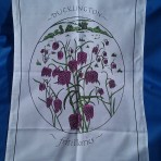 Fritillary Tea Towel