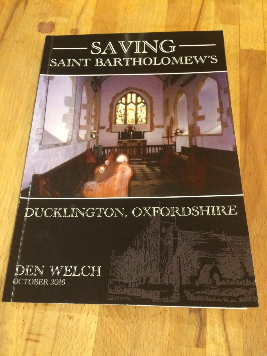 Saving St Bartholomew's - by Den Welch